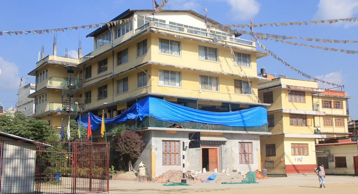 Nepal Earthquake Renovation at SMD School