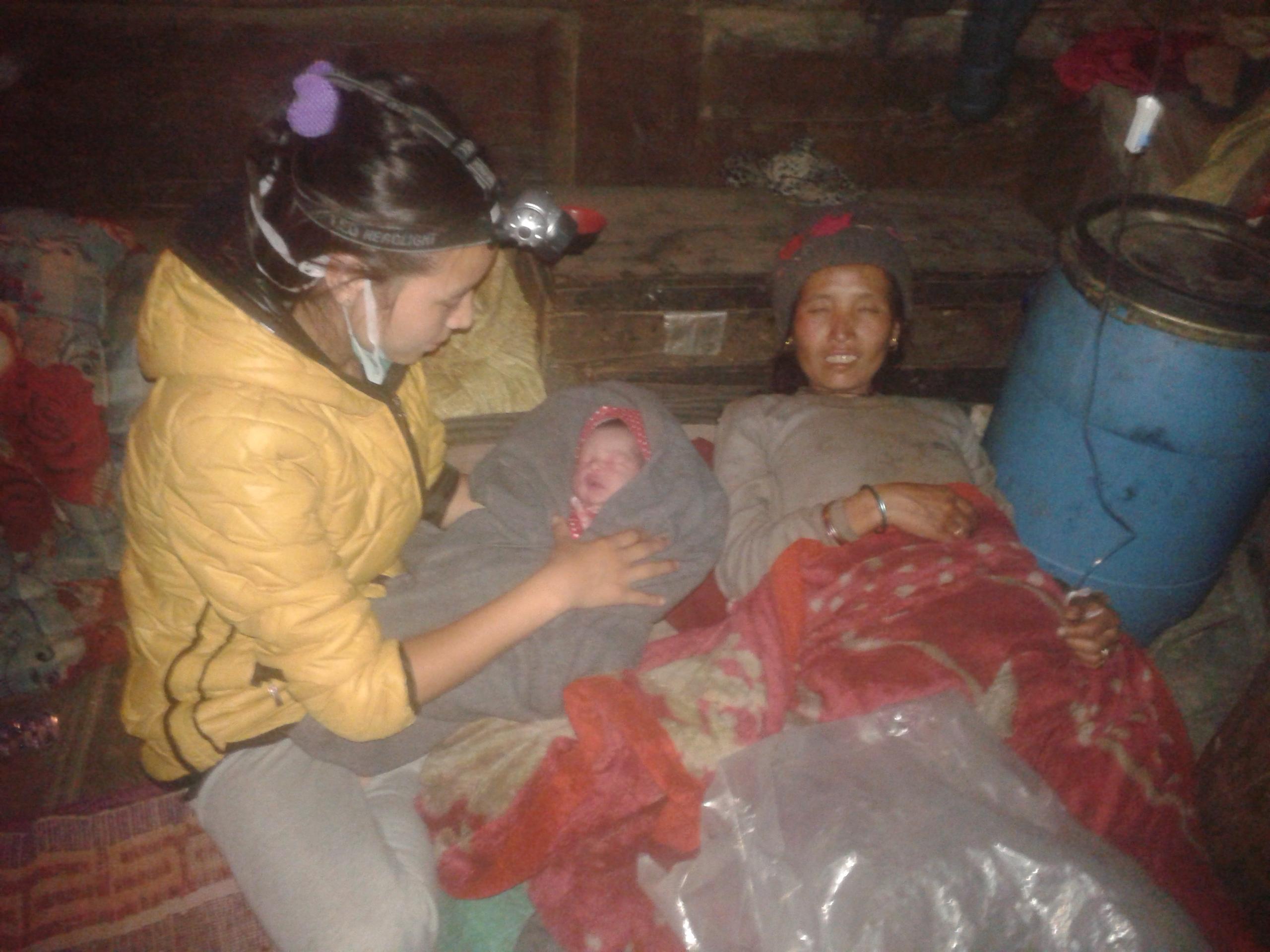 SMD Health Assistant Phurbu Choden Lama