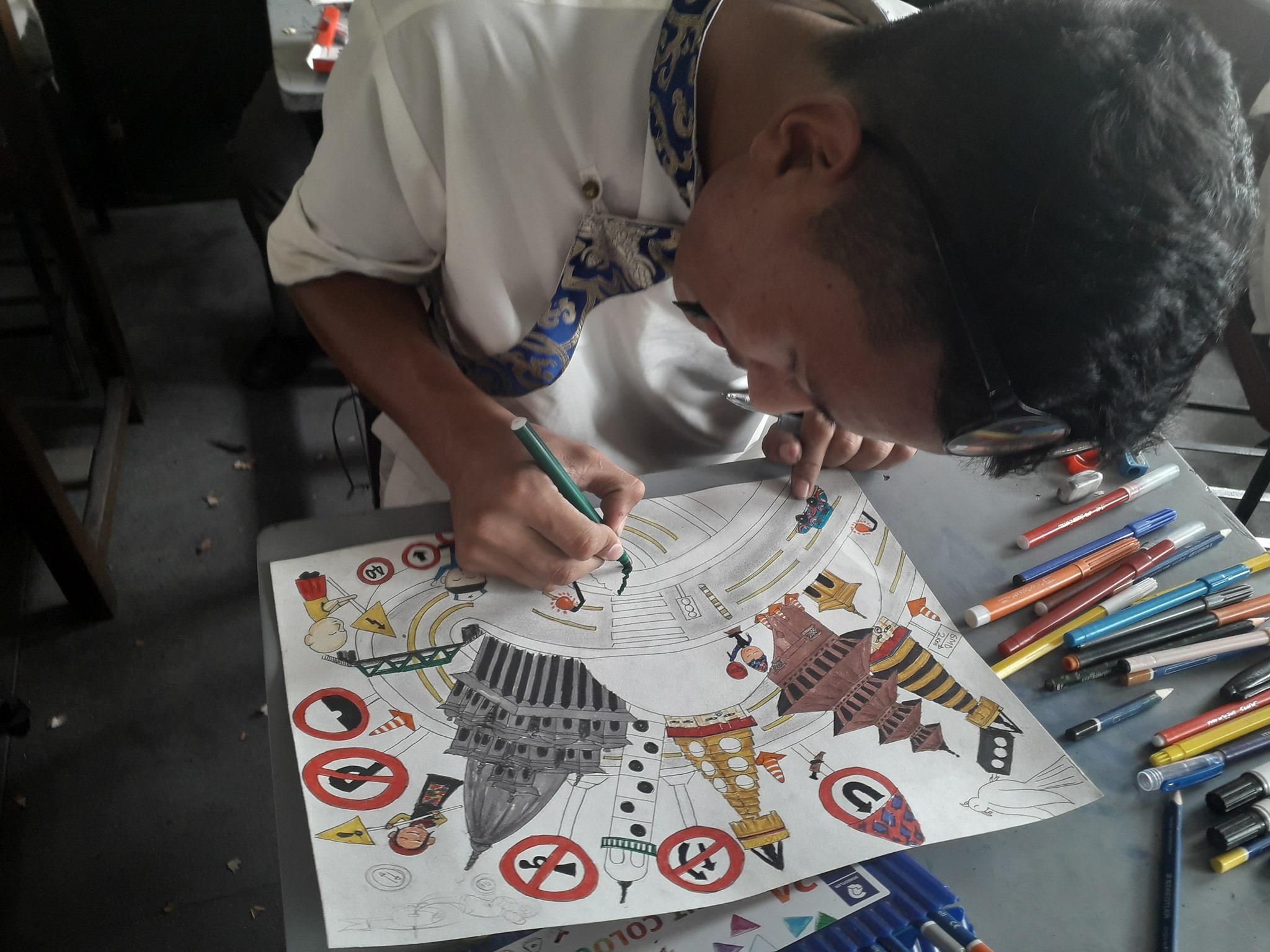 SMD Inter School Art Contet
