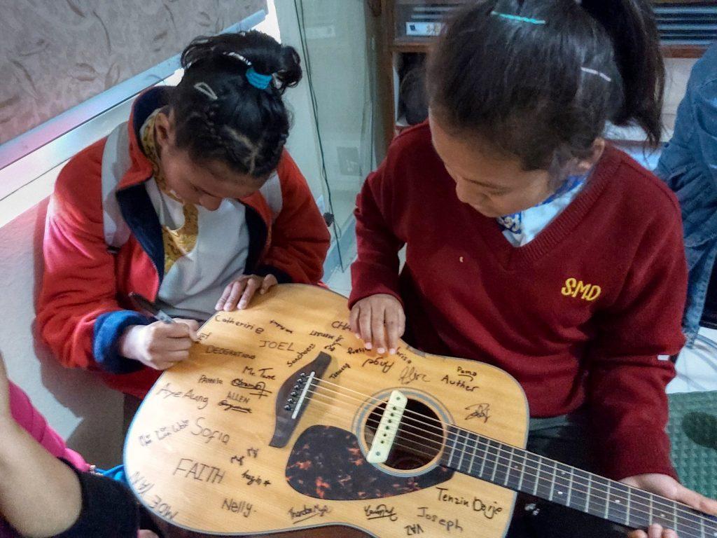 SMD School guitar club