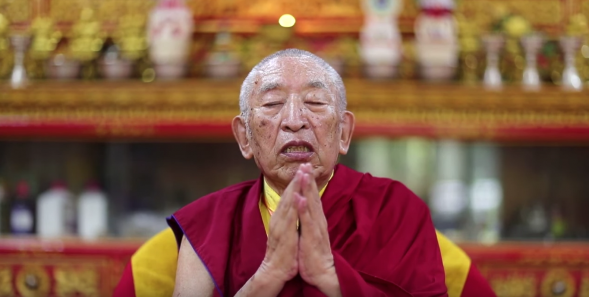 Thrangu Rinpoche gives Covid-19 prayer