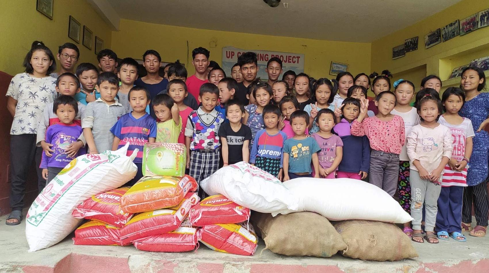 Food aid for Sindhupalchok