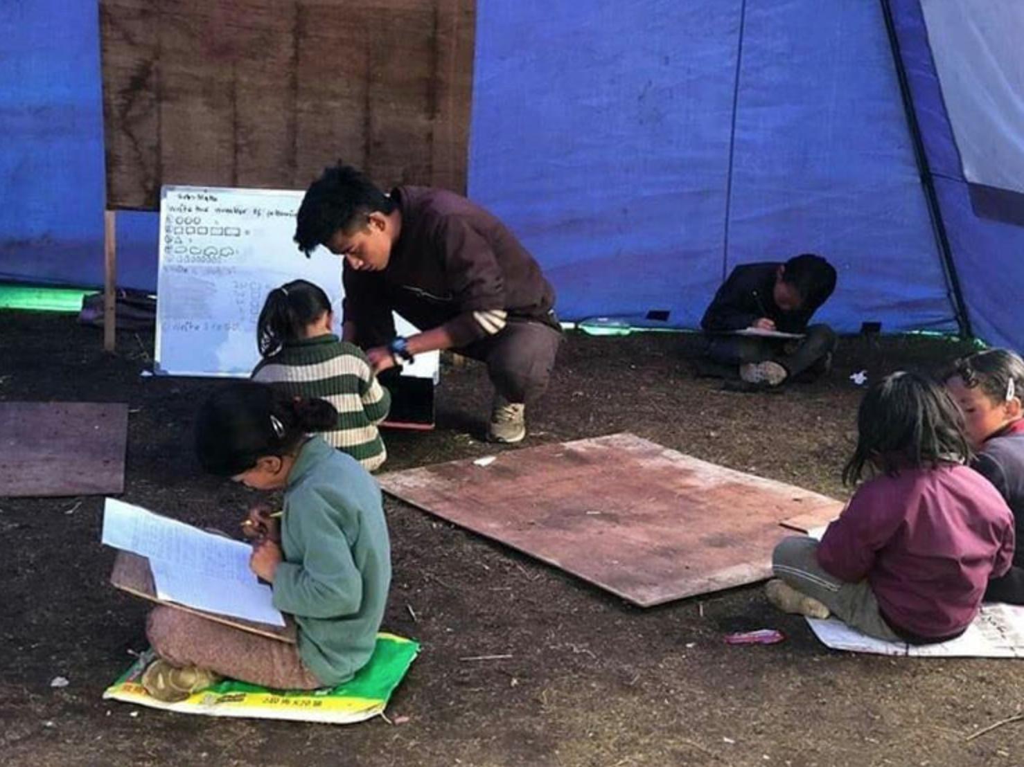 SMD school village teaching